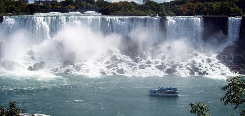 Niagara Falls, one of the seven wonders of the world