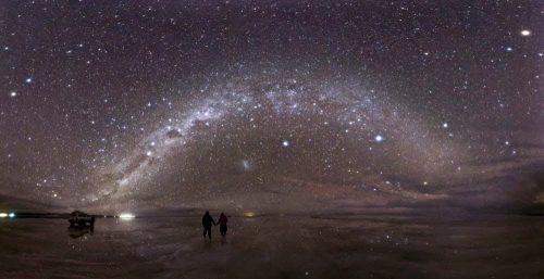 Salar de Uyuni Night view