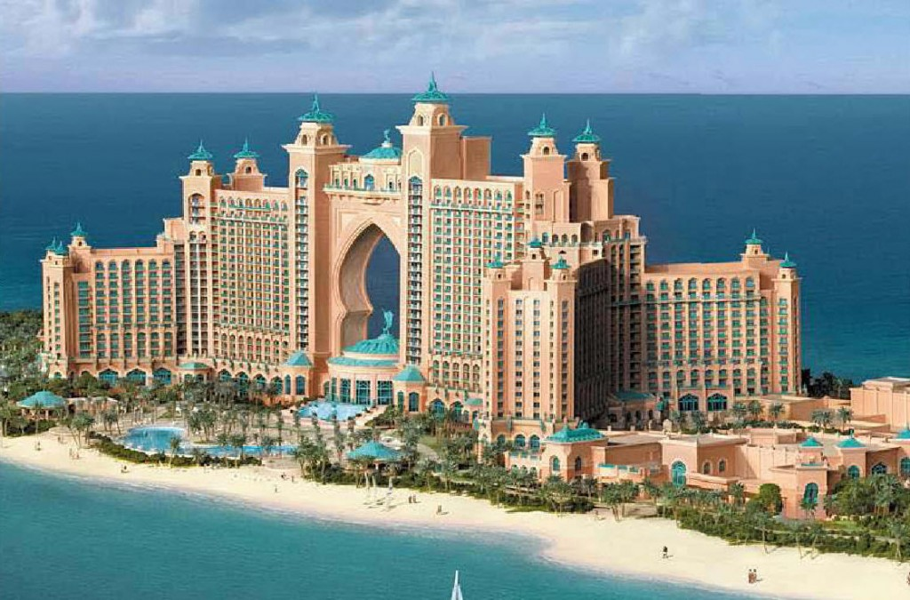 Atlantis Palm 6 Stars Hotel In Dubai Found The World
